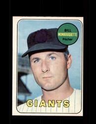 1969 BILL MONBOUQUETTE OPC #64 O-PEE-CHEE GIANTS *1122