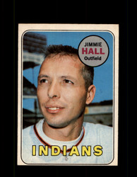 1969 JIMMIE HALL OPC #61 O-PEE-CHEE INDIANS *3845