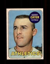 1969 DANNY CATER OPC #44 O-PEE-CHEE ATHLETICS *G6268
