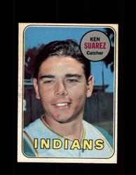 1969 KEN SUAREZ OPC #19 O-PEE-CHEE INDIANS *G6326