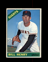 1966 BILL HENRY OPC #115 O-PEE-CHEE GIANTS *G6384