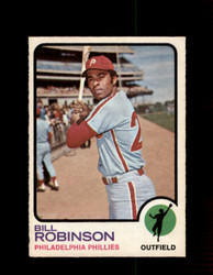 1973 BILL ROBINSON OPC #37 O-PEE-CHEE PHILLIES *5596