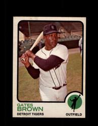 1973 GATES BROWN OPC #508 O-PEE-CHEE TIGERS *G6526