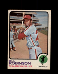 1973 BILL ROBINSON OPC #37 O-PEE-CHEE PHILLIES *G6532