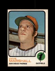 1973 DAVE MARSHALL OPC #513 O-PEE-CHEE PADRES *G6543