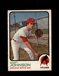 1973 BART JOHNSON OPC #506 O-PEE-CHEE WHITE SOX *G6619
