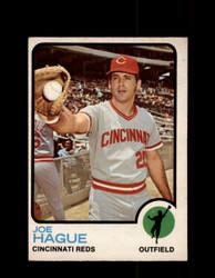 1973 JOE HAGUE OPC #447 O-PEE-CHEE REDS *G6621