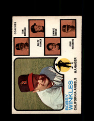 1973 BOBBY WINKLES OPC #421 O-PEE-CHEE ANGELS *G6631