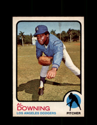 1973 AL DOWNING OPC #324 O-PEE-CHEE DODGERS *G6712