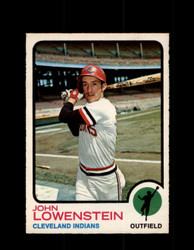 1973 JOHN LOWENSTEIN OPC #327 O-PEE-CHEE INDIANS *G6713