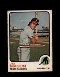 1973 JIM MASON OPC #458 O-PEE-CHEE RANGERS *G6720