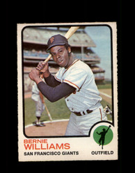 1973 BERNIE WILLIAMS OPC #557 O-PEE-CHEE GIANTS *G6721