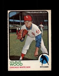 1973 WILBUR WOOD OPC #150 O-PEE-CHEE WHITE SOX *G6681