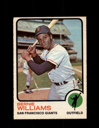 1973 BERNIE WILLIAMS OPC #557 O-PEE-CHEE GIANTS *G6770