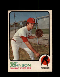 1973 BART JOHNSON OPC #506 O-PEE-CHEE WHITE SOX *G6813