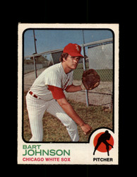 1973 BART JOHNSON OPC #506 O-PEE-CHEE WHITE SOX *G6814
