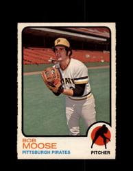 1973 BOB MOOSE OPC #499 O-PEE-CHEE PIRATES *G6823