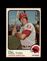 1973 BILL MELTON OPC #455 O-PEE-CHEE WHITE SOX *G6837