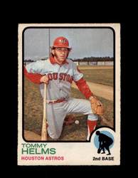 1973 TOMMY HELMS OPC #495 O-PEE-CHEE ASTROS *G6847