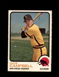 1973 DAVE CAMPBELL OPC #488 O-PEE-CHEE PADRES *G6883