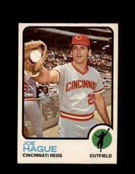 1973 JOE HAGUE OPC #447 O-PEE-CHEE REDS *G6892