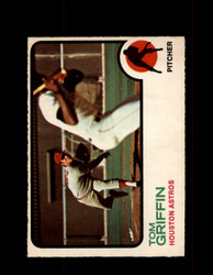 1973 TOM GRIFFIN OPC #468 O-PEE-CHEE ASTROS *G6922