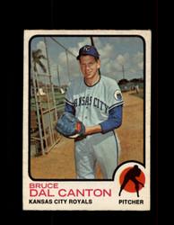 1973 BRUCE DAL CANTON OPC #487 O-PEE-CHEE ROYALS *G6925