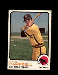 1973 DAVE CAMPBELL OPC #488 O-PEE-CHEE PADRES *G6938