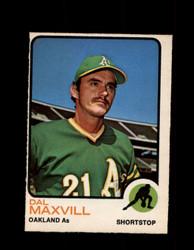 1973 DAL MAXVILL OPC #483 O-PEE-CHEE ATHLETICS *G6943