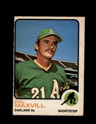 1973 DAL MAXVILL OPC #483 O-PEE-CHEE ATHLETICS *G6944