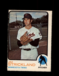 1973 JIM STRICKLAND OPC #122 O-PEE-CHEE TWINS *G6952