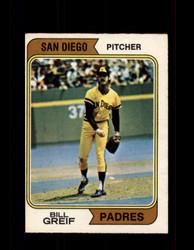 1974 BILL GREIF OPC #102 O-PEE-CHEE PADRES *2590