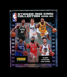 2019 PANINI NBA BASKETBALL STICKER/CARD BOX
