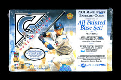2001 TOPPS GALLERY BASEBALL MUSEUM EDITION FACTORY SEALED HOBBY BOX