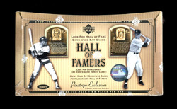 2001 UPPER DECK BASEBALL HALL OF FAMERS FACTORY SEALED HOBBY BOX