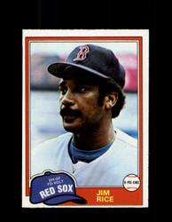 1981 JIM RICE OPC #68 O-PEE-CHEE RED SOX GRAY BACK *1238
