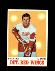 1970 BILLY DEA TOPPS #30 RED WINGS *G3196