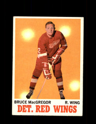 1970 BRUCE MACGREGOR TOPPS #27 RED WINGS *G3198
