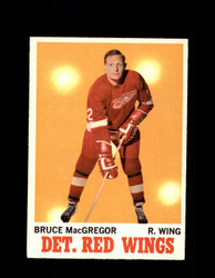 1970 BRUCE MACGREGOR TOPPS #27 RED WINGS *G3199