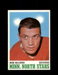 1970 BOB MCCORD TOPPS #41 NORTH STARS *G3202