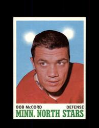 1970 BOB MCCORD TOPPS #41 NORTH STARS *G3203