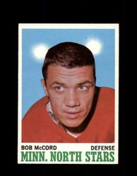 1970 BOB MCCORD TOPPS #41 NORTH STARS *G3204