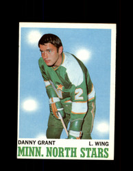 1970 DANNY GRANT TOPPS #47 NORTH STARS *G3214