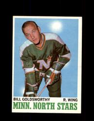 1970 BILL GOLDSWORTHY TOPPS #46 NORTH STARS *G3218