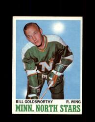 1970 BILL GOLDSWORTHY TOPPS #46 NORTH STARS *G3219