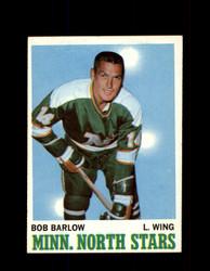 1970 BOB BARLOW TOPPS #45 NORTH STARS *G3220