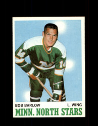 1970 BOB BARLOW TOPPS #45 NORTH STARS *G3221