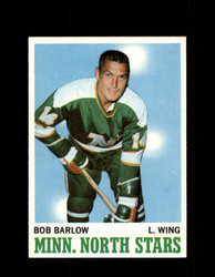 1970 BOB BARLOW TOPPS #45 NORTH STARS *G3223