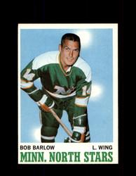1970 BOB BARLOW TOPPS #45 NORTH STARS *G3225
