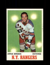 1970 ARNIE BROWN TOPPS #66 RANGERS *G3240